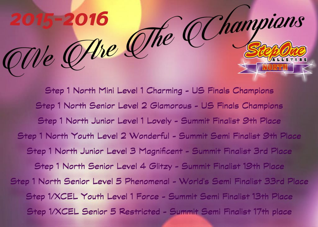 Champions List